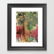 Mighty Tree Framed Art Print