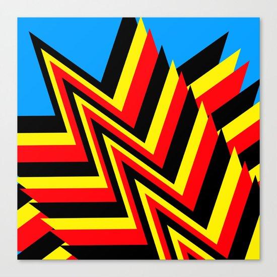 Swishy-Swashy Canvas Print