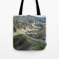 Thousand Miles Tote Bag