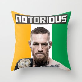 The Notorious Throw Pillow