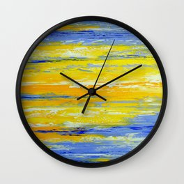 Once in the sky Wall Clock