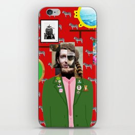 Wes Anderson illustration iPhone Skin