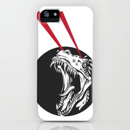 T-Rex Vision iPhone Case