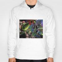 teenage mutant ninja turtles Hoodies featuring Teenage Mutant Ninja Turtles by artbywilliam