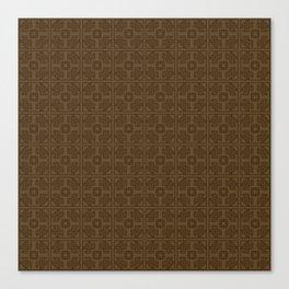 Maya pattern Canvas Print