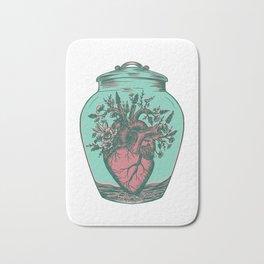 Anahata: Blooming Heart  Bath Mat