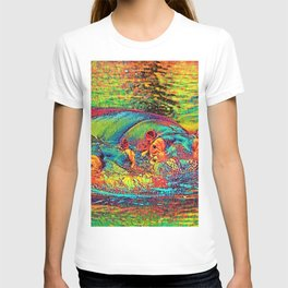 AnimalColor_Hippo_003_by_JAMColors T-shirt