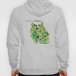 Wolf - do not let it disappear Hoody