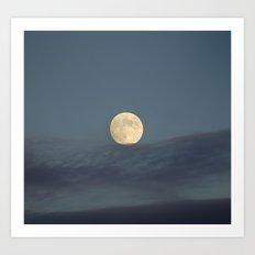 Moon equilibrium Art Print