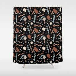 Central Dogma - DNA to mRNA to Protein! Shower Curtain