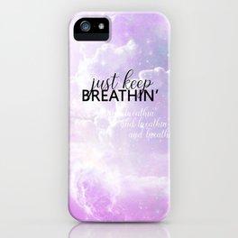 breathin' iPhone Case
