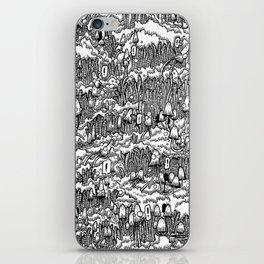 Little mushrooms iPhone Skin