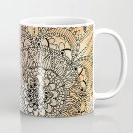 Butterfly Mandala Coffee Mug