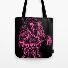 Happy Madness Negative Version Tote Bag