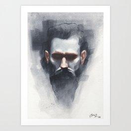 Reproduction of Casey Baugh Artwork Art Print
