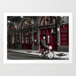 The Cheshire Cheese Art Print