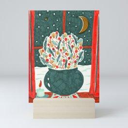 Winter Solstice Still Life by Amanda Laurel Atkins Mini Art Print