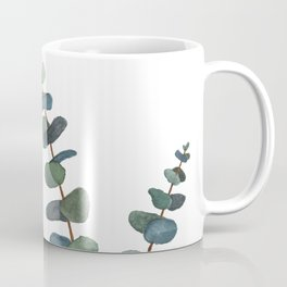 Watercolor Eucalyptus Coffee Mug