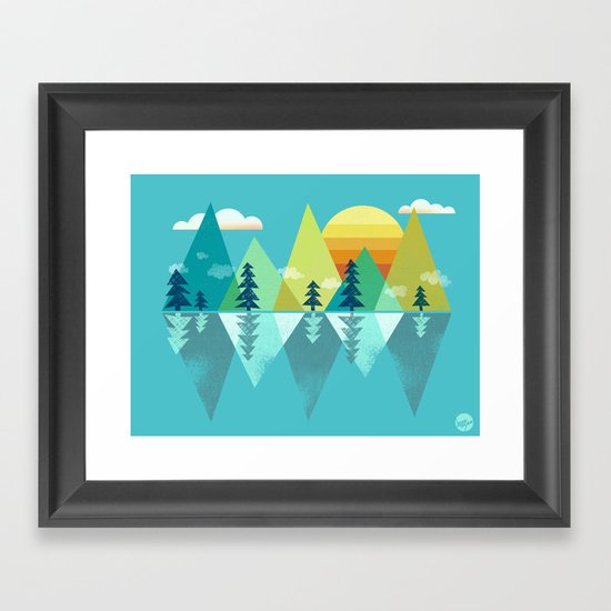 the Clarion Lake Framed Art Print