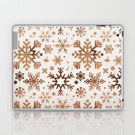 Snowflake Collection – Rose Gold Palette Laptop & iPad Skin