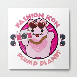 Fashion Icon Metal Print