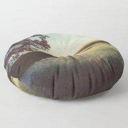 Moody Gulf Coast Morning Floor Pillow