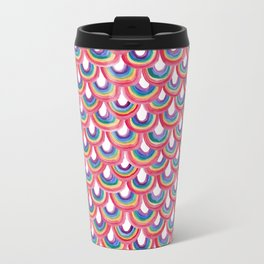Rainbow Scallop Travel Mug