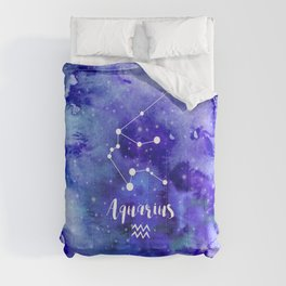 Aquarius Constellation Comforters