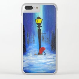 Waiting for Lucy Clear iPhone Case
