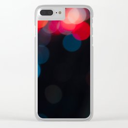 Because Bokeh Clear iPhone Case