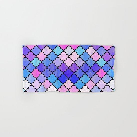 Watercolor Lovely Pattern VVXIII Hand & Bath Towel