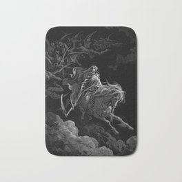Death on the Pale Horse resized - Dore Bath Mat
