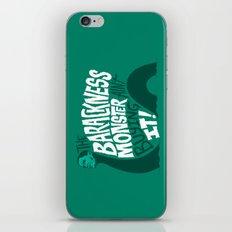Barackness Monster iPhone & iPod Skin