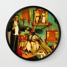 Thurston The Great Magician - Egypt Wall Clock