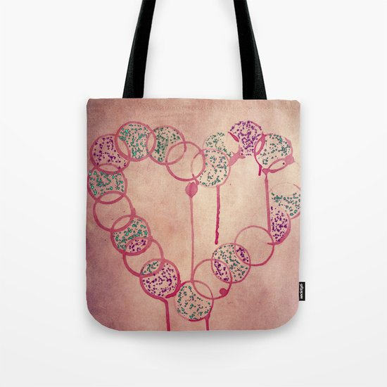 Love is in the air.. Tote Bag
