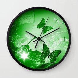 Beautiful flowers Wall Clock