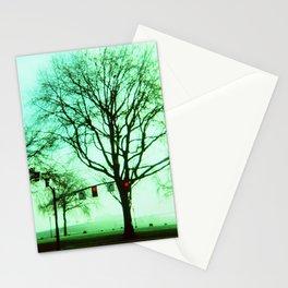 Green Fog Stationery Cards
