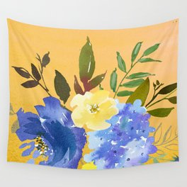 Flowers Bouquet 111 Wall Tapestry