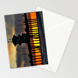 Funky Weather @ the HB Pier Stationery Cards