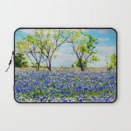 Bluebonnet Texas Laptop Sleeve