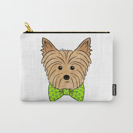 Zeusy Goosey the Yorkie Carry-All Pouch