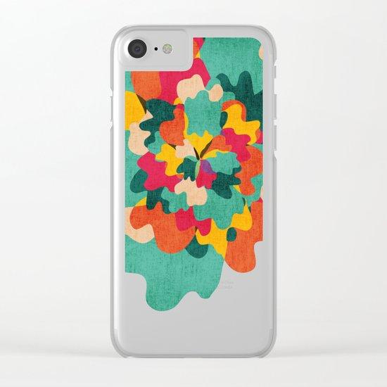 Aloha Camo Clear iPhone Case
