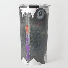 InkBlot Monster 1 Travel Mug