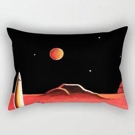 CITY ON MARS Rectangular Pillow