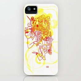 Magos en Juego iPhone Case