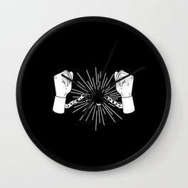 Break Chains Wall Clock
