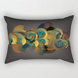 Arcs13 Rectangular Pillow