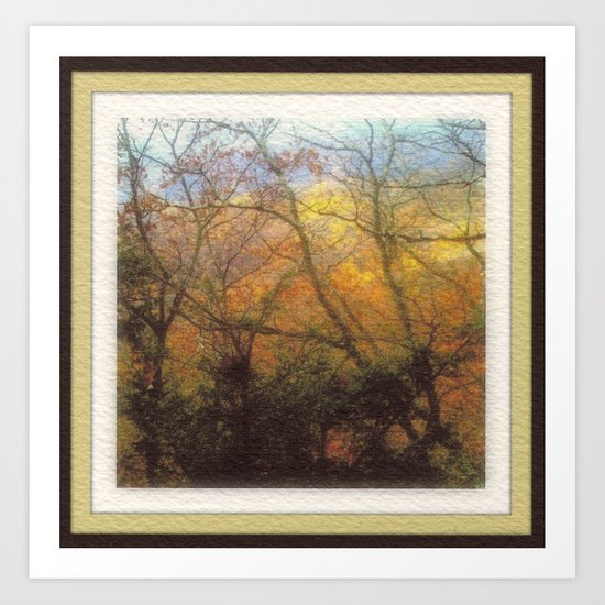 Appalachian Fall Art Print