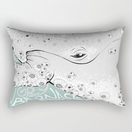 For A Hungry Barnacle Rectangular Pillow