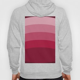 Red and Pink Ellipses Hoody